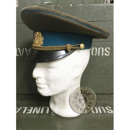 SOVIET UNION AIR FORCE OFFICERS CAP /HIGH RANKS OFFICERS USED CONDITION