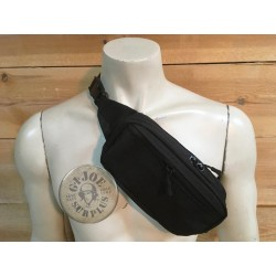 "TACTICAL KIDNEY BAG ""LIGHT"" BLACK COLOUR"