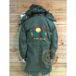 "US ARMY M65 FISHTAIL PARKA ""SOUVENIR 1991 GULF WAR"" /COLLECTORS ITEM"