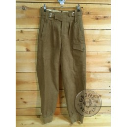 """BRITISH WWII ARMY """"TROUSERS BATTLEDRESS SIZE 1"""" /COLLECTORS ITEM"""