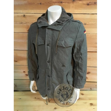 GERMAN ARMY GREEN PARKA USED CONDITION SUPER GRADE 1 LARGE SIZES