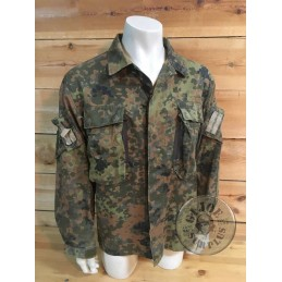 "GERMAN ARMY ""KSK SEPCIAL FORCES"" FLECKTARN CAMO JACKET USED"