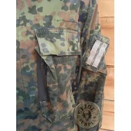 "GERMAN ARMY ""KSK SEPCIAL FORCES"" FLECKTARN CAMO JACKET USED"