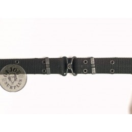 TROUSER CORDURA BELT METAL CLOUSURE BLACK COLOUR