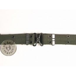 TROUSER CORDURA BELT METAL CLOUSURE OLIVE GREEN COLOUR