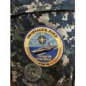 """CHAQUETILLA NWU US NAVY CAMO AZUL """"PORTAVIONES CVN 78 USS GERALD FORD"""" /PIEZA UNICA"""