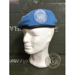 UNITED NATIONS BERETS FROM DIFFERENT NATO COUNTRIES IN USED GREAT CONDITION