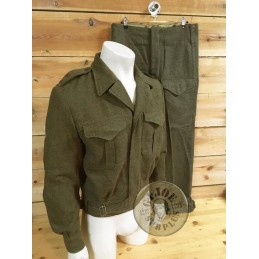 CANADIAN ARMY M1949 WOOL BATTLEDRESS SHORT JACKET USED GREAT CONDITION