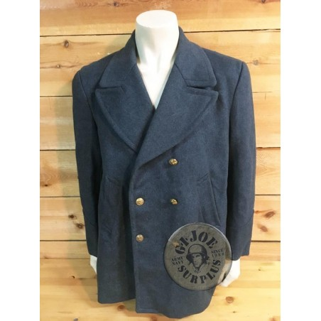SOLD!!! GREECE AIRFORCE WOOL OFFICERS OVERCOAT /COLLECTORS ITEM