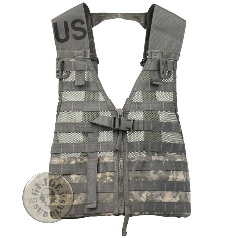 "CHALECO MODULAR US ARMY ""SDS MOLLE II FLC"" CAMUFLAJE AT DIGITAL NUEVOS"