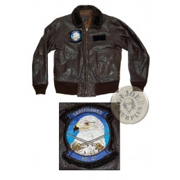 "SOLD!!! US NAVY G1 PILOTS LEATHER JACKET ""1968 DATED"" /COLLECTORS ITEM"