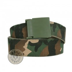 "TROUSER BELT ""PVC STEALTH"" WOODLAND CAMO"