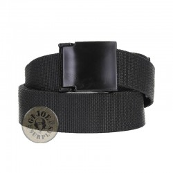 "TROUSER BELT ""PVC STEALTH"" BLACK COLOUR"