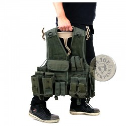 HEAVY DUTY HANGER FOR SOFTAIR VESTS AND GEAR COYOTE COLOUR
