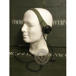 SWEADISH ARMY FIELD TELEPHON ERICSSON HEADPHONES USED CONDITION