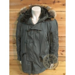 US AIR FORCE N3B EXTREM COLD WEATHER PARKA MODIFIED LARGE  USED /COLLECTORS ITEM