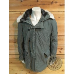 PARKA N3B EXTREME COLD WEATHER US AIR FORCE USADA T-LARGE/ PIEZA UNICA
