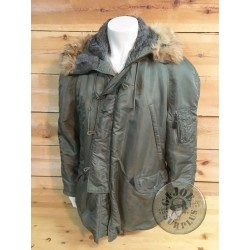 PARKA NYLON N3B US AIR FORCE EXTREME COLD WEATHER USADES LARGE /PEÇA UNICA
