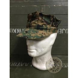 USMC CAP MARPAT WOODLAND NEW-AS NEW