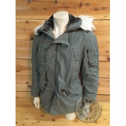 PARKA N3B EXTREME COLD WEATHER US AIR FORCE USADA T-SMALL/ PIEZA UNICA