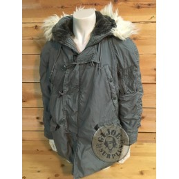 US AIR FORCE N3B EXTREM COLD WEATHER PARKA MEDIUM USED /COLLECTORS ITEM