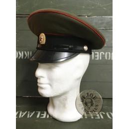GORRA PLAT UNIO SOVIETICA EXERCIT /OFICIALS TANCS