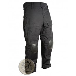 "TACTICAL TROUSERS ""WARRIOR BASIC"" BLACK COLOUR"
