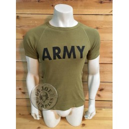 "SELLING AT STORE!!! RECYCLED AD PRINTED RAGLAN  ARMY  T/SHIRTS ""ARMY"""