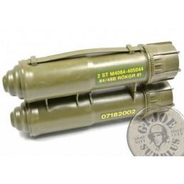 CAIXA DE TRANSPORT DE MISILS ANTITANC M84 CARL GUSTAV USATS