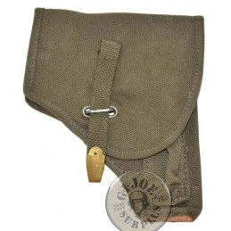 "ITALIAN ARMY PISTOL CANVAS HOLSTER ""BERETTA 34/35"" BRAND NEW"