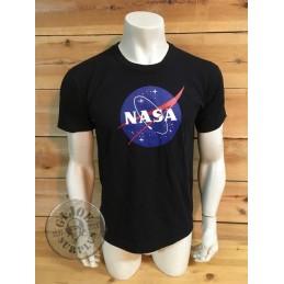 "CAMISETA M/CORTA ALGODON NEGRA ""NASA"""