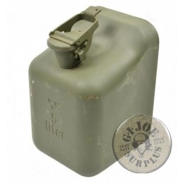 SWEADISH ARMY 5 LITERS  JERRYCANS AS NEW