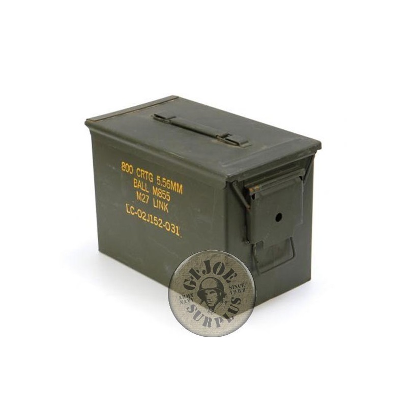 US ARMY AMMO BOX EXTRA 50CAL USED CONDITION