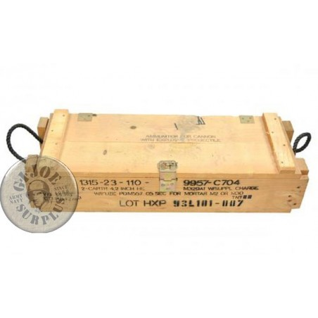 CYPRUS REPUBLIC ARMY WOOD BOX LARGE 82x29x19 USED GREAT CONDITION