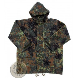 "GERMAN ARMY GORETEX PARKA ""CARINTHIA""  FLECKTARN CAMO AS NEW CONDITION"