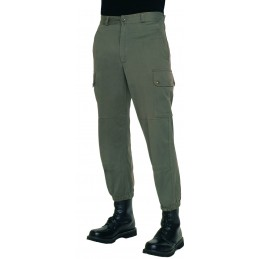 SELLING AT STORE!!! FRENCH ARMY F1 GREEN UNIFORM TROUSERS USED CONDITION