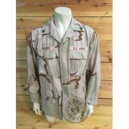 "CHAQUETILLA BDU DESERT 3 COLORES ""US ARMY 42nd DIVISION"" MEDIUM LONG /PIEZA UNICA"