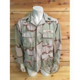 "CHAQUETILLA BDU DESERT 3 COLORES ""US ARMY 81st BRIGADE COMBAT TEAM"" MEDIUM REGULAR /PIEZA UNICA"