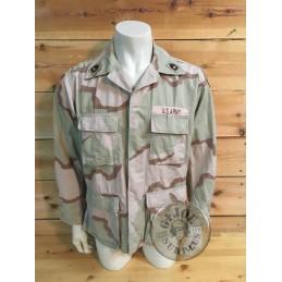 "US ARMY ""81st BRIGADE STRYKE COMBAT TEAM"" 3 COLORS BDU JACKET  MEDIUM REGULAR /UNIQUE PIECE"