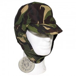 BRITISH ARMY DPM CAMO GORETEX WINTER CAP AS NEW