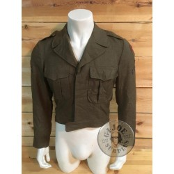 """US ARMY M1950 IKE JACKET """"COLD WAR 7TH CORPS SIZE 36R"""" /COLLECTORS ITEM"""