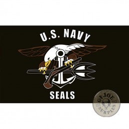 US NAVY SEALS  FLAG 1X1.5M