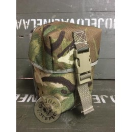 BRITISH ARMY MTP CAMO OSPREY LMG 100 ROUNDS POUCH NEW