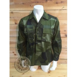 SWEADISH ARMY M90 CAMO COMBAT JACKETS BRAND NEW