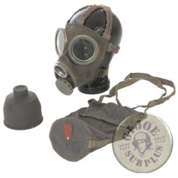 GAS MASK SWEADISH ARMY M1936 NO FILTER BRAND NEW