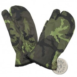 CZECH ARMY M95 CAMO WINTER GLOVES NEW