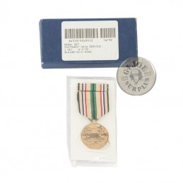 """US MEDAL """"SOUTHWEST ASIA SERVICE"""" NEW AND COMPLETE"""