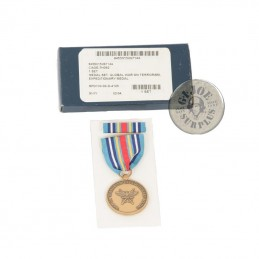 """US MEDAL """"GLOBAL WAR ON TERRORISM EXPEDITIONARY MEDAL"""" NEW AND COMPLETE"""
