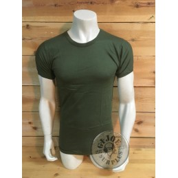 ITALIAN ARMY OLIVE GREEN T-SHIRT BRAND NEW