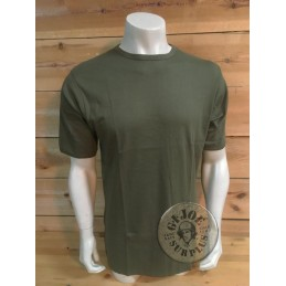 BELGIUM ARMY OLIVE GREEN T-SHIRT BRAND NEW
